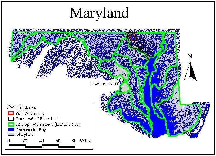 Landforms Of Maryland